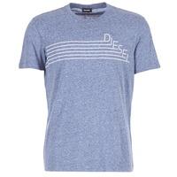 Textil Muži Trička s krátkým rukávem Diesel JOE QF Tmavě modrá