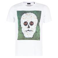 Textil Muži Trička s krátkým rukávem Diesel JOE QM Bílá