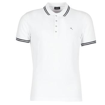 Textil Muži Polo s krátkými rukávy Diesel RANDY Bílá