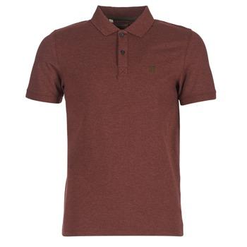Textil Muži Polo s krátkými rukávy Selected ARO Bordó