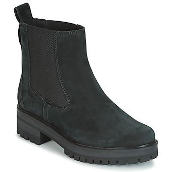 Boty Ženy Kotníkové boty Timberland COURMAYER VALLEY CHELSEA Černá