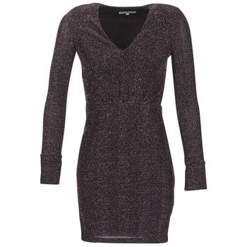 Morgan Krátké šaty RIKRAK - Černá