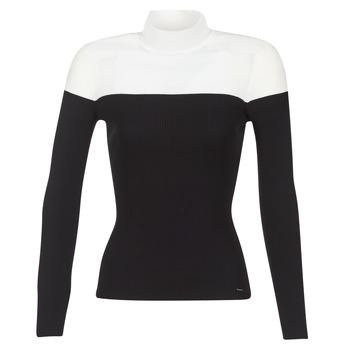 Textil Ženy Svetry Morgan MICO Černá / Bílá