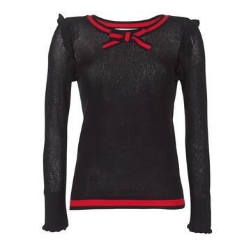 Textil Ženy Svetry Morgan MIRTI Černá / Červená