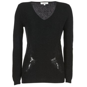 Textil Ženy Svetry Morgan MDAN Černá