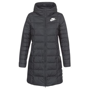 Nike Prošívané bundy DOWN FILL PARKA - Černá