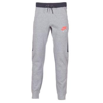 Textil Muži Teplákové kalhoty Nike AIR JOGGER FLEECE Šedá / Červená