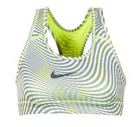 Textil Ženy Sportovní podprsenky Nike NIKE PRO CLASSIC BRA Žlutá / Šedá