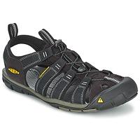Boty Muži Sportovní sandály Keen MEN CLEARWATER CNX Černá / Šedá