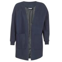 Textil Ženy Svetry / Svetry se zapínáním Noisy May CARRY Tmavě modrá