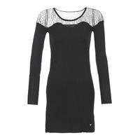 Textil Ženy Krátké šaty Les P'tites Bombes DARTO Černá