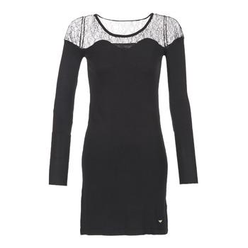 Textil Ženy Krátké šaty LPB Woman DARTO Černá