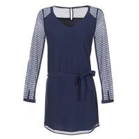 Textil Ženy Krátké šaty Les P'tites Bombes MALIS Tmavě modrá