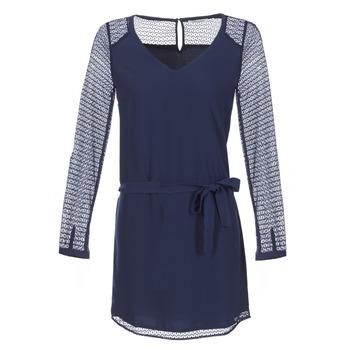 Les P'tites Bombes Krátké šaty MALIS - Modrá