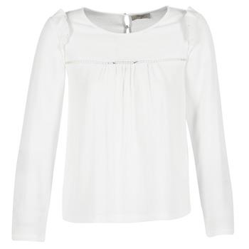 Textil Ženy Halenky / Blůzy Betty London HAMONE Krémově bílá