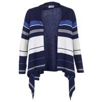 Textil Ženy Svetry / Svetry se zapínáním Casual Attitude HARINE Tmavě modrá / Bílá