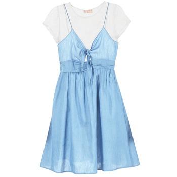 Textil Ženy Krátké šaty Moony Mood GLAM Modrá