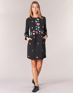 Textil Ženy Krátké šaty Derhy BASTILLE Černá