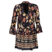 Textil Ženy Krátké šaty Derhy DEGUSTATION Černá / Vícebarevná