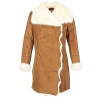 Textil Ženy Kabáty Derhy RADEAU Velbloudí hnědá