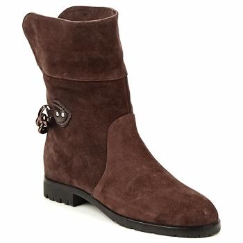 Kotnikove boty Marc Jacobs CHAIN BOOTS Hnědá 350x350