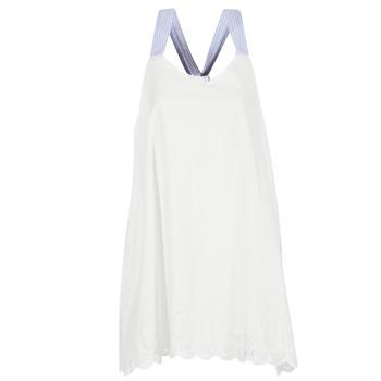 Textil Ženy Krátké šaty Betty London GRAMA Krémově bílá