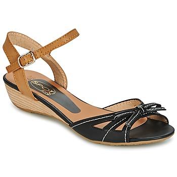 Boty Ženy Sandály Spot on  Černá