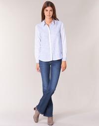 Textil Ženy Rifle bootcut Pepe jeans PIMLICO Modrá
