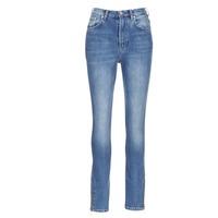 Textil Ženy Rifle slim Pepe jeans GLADIS Modrá / Světlá