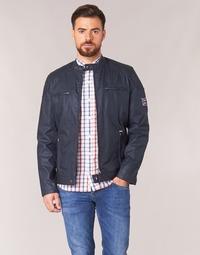 Textil Muži Bundy Pepe jeans RACER Tmavě modrá