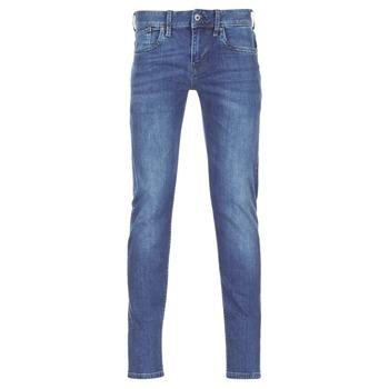 Textil Muži Rifle slim Pepe jeans HATCH Modrá