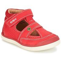 Boty Chlapecké Sandály Kickers GOODSPEED Červená