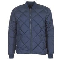 Textil Muži Prošívané bundy Jack & Jones SOUTH ORIGINALS Tmavě modrá