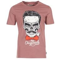 Textil Muži Trička s krátkým rukávem Jack & Jones CRIPTIC ORIGINALS Růžová