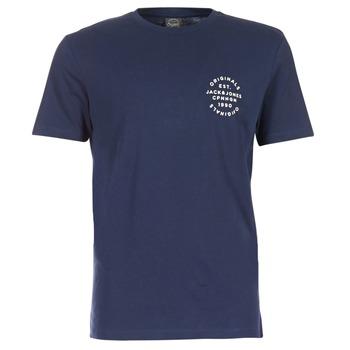 Textil Muži Trička s krátkým rukávem Jack & Jones ORGANIC ORIGINALS Tmavě modrá