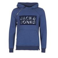 Textil Muži Mikiny Jack & Jones KALVO CORE Modrá