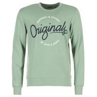 Textil Muži Mikiny Jack & Jones SWEEP ORIGINALS Zelená
