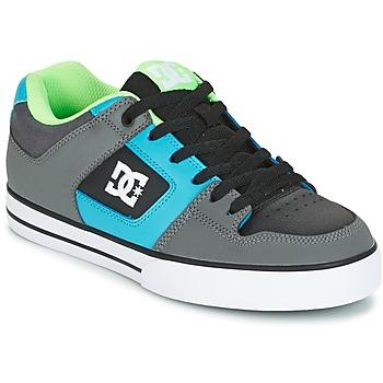 Boty Muži Skejťácké boty DC Shoes PURE Šedá / Zelená / Modrá