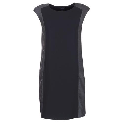 Textil Ženy Krátké šaty Armani jeans LAMIC Černá / Šedá
