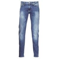 Textil Muži Rifle slim Armani jeans LORETTE Modrá