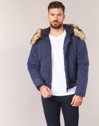 Textil Muži Prošívané bundy Armani jeans GNAN Tmavě modrá