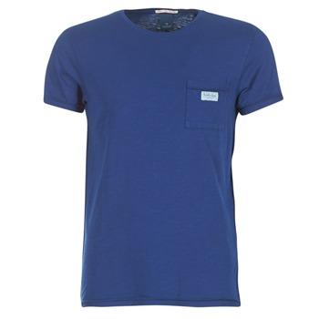 Textil Muži Trička s krátkým rukávem Scotch & Soda JURISCU Tmavě modrá