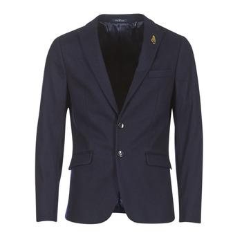 Textil Muži Saka / Blejzry Scotch & Soda DARLO Tmavě modrá