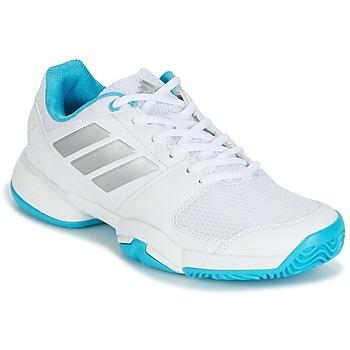Boty Běžecké / Krosové boty adidas Performance Barricade Club xJ Bílá / Modrá
