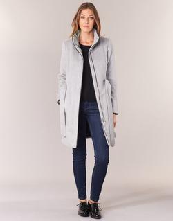 Textil Ženy Kabáty Vero Moda PRATO Šedá