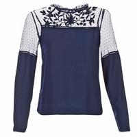Textil Ženy Halenky / Blůzy Vero Moda JOSEFINE Tmavě modrá