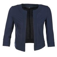 Textil Ženy Saka / Blejzry Vero Moda YOYO Tmavě modrá