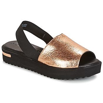 Boty Ženy Sandály Tamaris  Černá / Zlatá