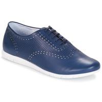 Boty Ženy Šněrovací společenská obuv Kickers BECKI Tmavě modrá