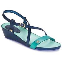 Boty Ženy Sandály Kickers TASTE Tmavě modrá / Modrá